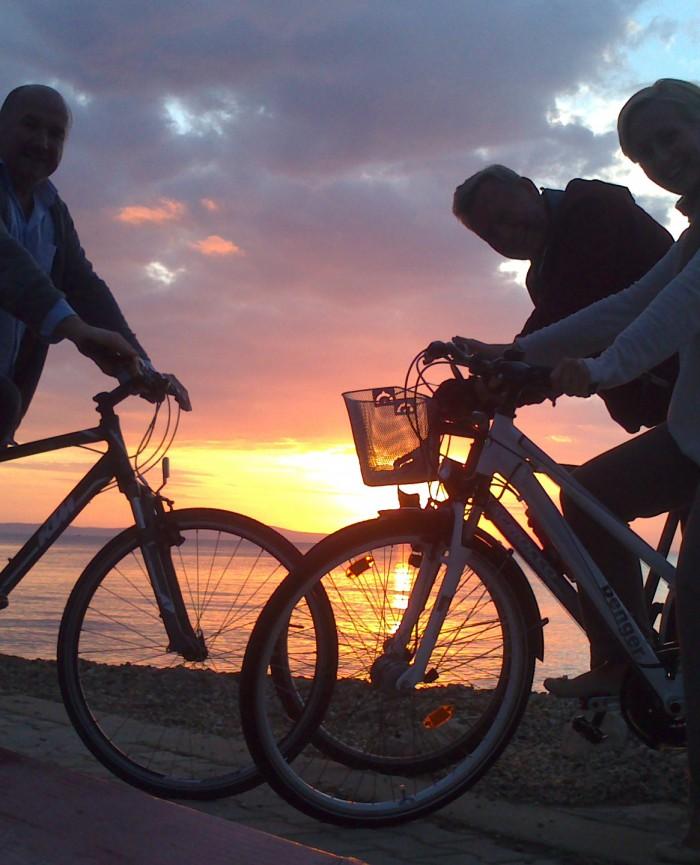 Zaton - Strand - Fahrradtouren